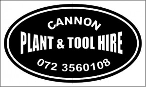 Cannon plant tool hire logo